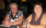 Lifelong friends and travelling pals  Sandra Spielman, Brenda MacDonald