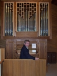 Jim Wagner playing a 4 rank tracker pipe organ @ Assension Lutheran Church. Currently plays at shepherd Lutheran on a Ca